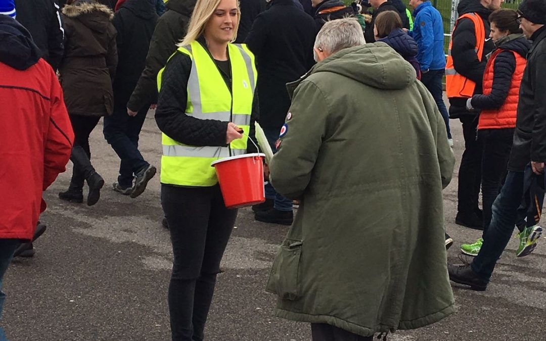 Gemma Stephens; Fundraising at the Amex