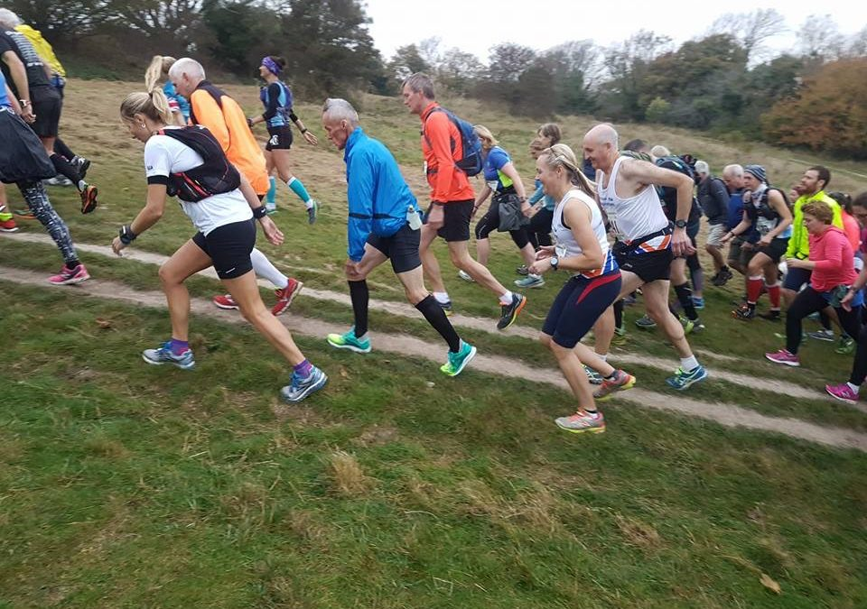Peter Hedgethorne completes the Beachy Head Marathon!
