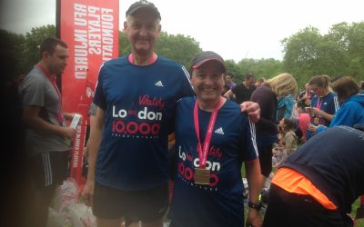 Peter Hedgethorne completes another run!