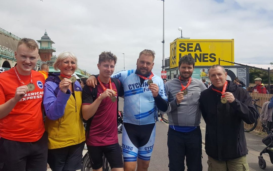 Plus Accounting complete the London to Brighton Bike Ride!