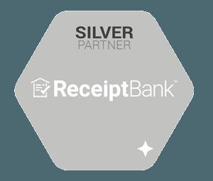 Reciept Bank- Silver Partner logo