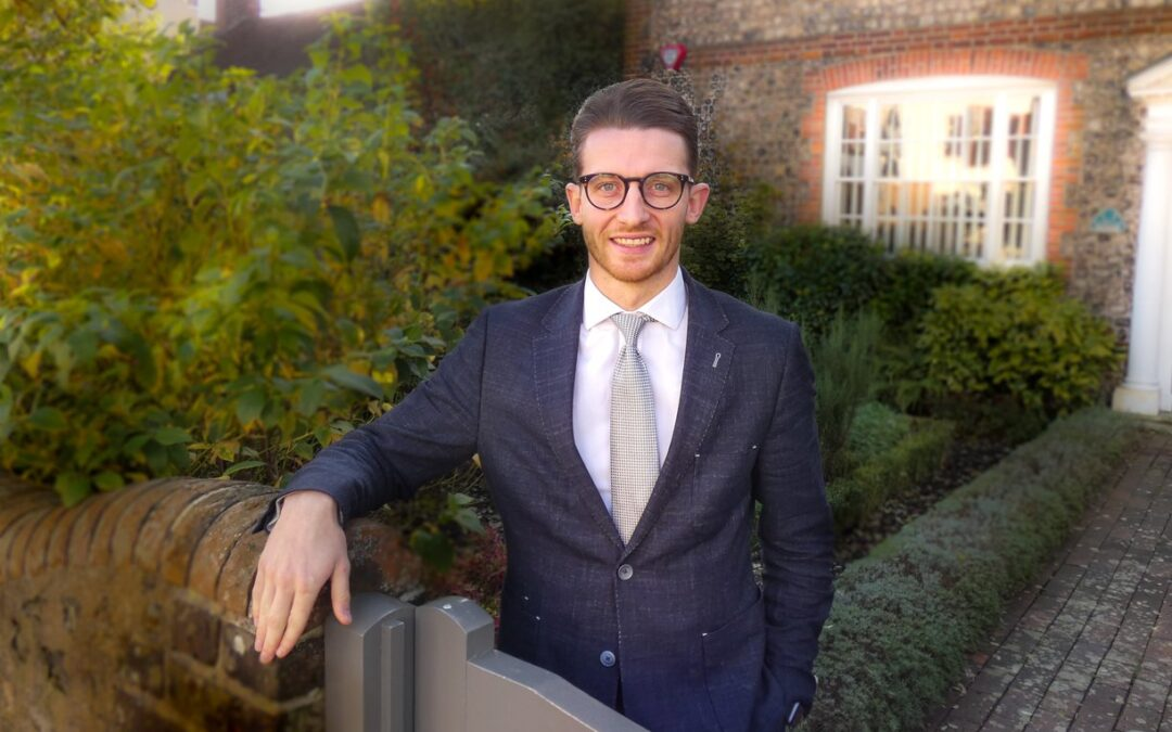 Meet Kieron Pamment- Our new team member!