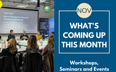 November's Workshops & Events in Brighton