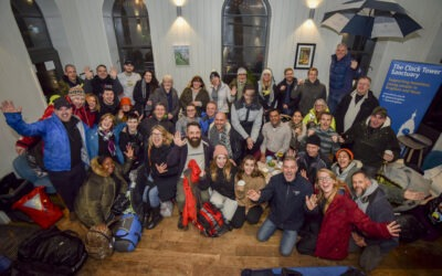 Vicky completes the Big City Sleepout!