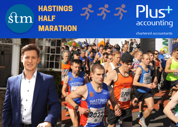 Ed to run the Hastings Half for St Michael's Hospice!