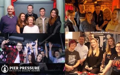 Pier Pressure Escape Rooms- Could we escape!?