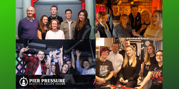 Pier Pressure Escape Rooms- Could we escape!?