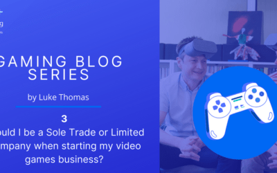 Should I be a Sole Trade or Limited Company when starting my video games business?