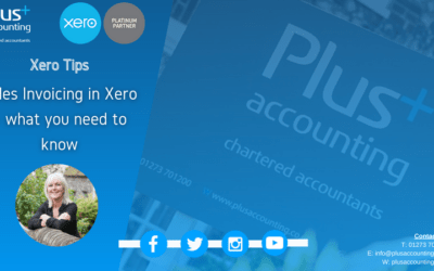 Sales Invoicing in Xero – what you need to know.