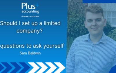 Should I set up a limited company? – 5 questions to ask yourself