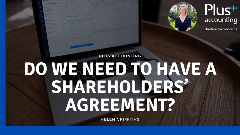 Do we need to have a Shareholders' Agreement?