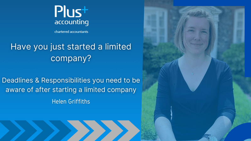 Have you just started a limited company?
